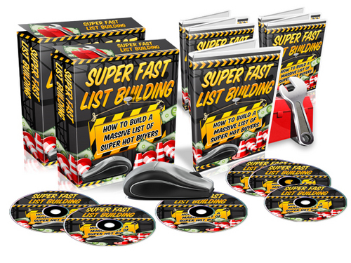 Product picture Super Fast List Building + MRR