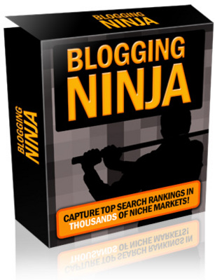 Product picture Blogging Ninja + MRR Licence