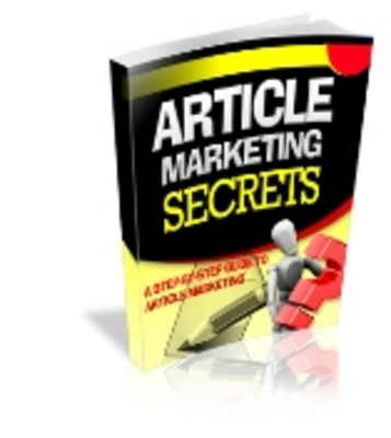 Product picture Article Marketing Secrets + PLR Licence