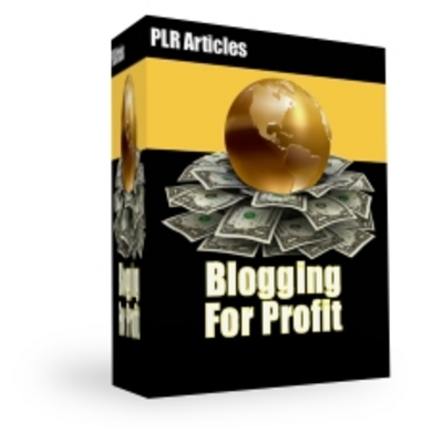 Product picture Blogging For Profit