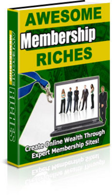 Product picture Awesome Membership Riches + PLR Licence